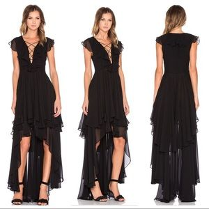 The Jetset Diaries Dio Maxi Dress, size medium